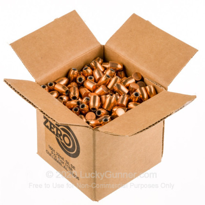 "Large image of Premium 45 ACP (.451"") Bullets for Sale - 230 Grain JHP Bullets in Stock by Zero Bullets - 500 Projectiles"