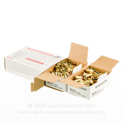 Image 3 of Winchester 9mm Luger (9x19) Ammo