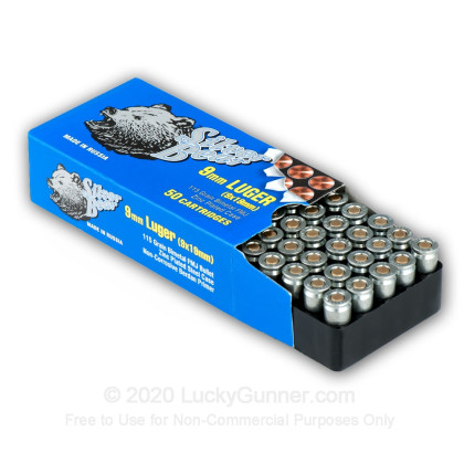 Image 3 of Silver Bear 9mm Luger (9x19) Ammo