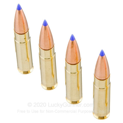 Large image of Cheap 300 AAC Blackout Ammo For Sale - 125 Grain SST Ammunition in Stock by Fiocchi Exrema - 25 Rounds