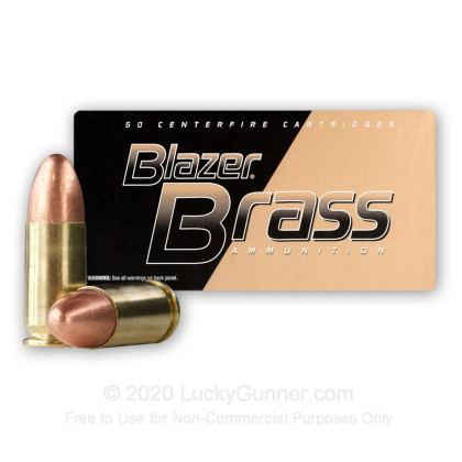 Image 2 of Blazer Brass 9mm Luger (9x19) Ammo