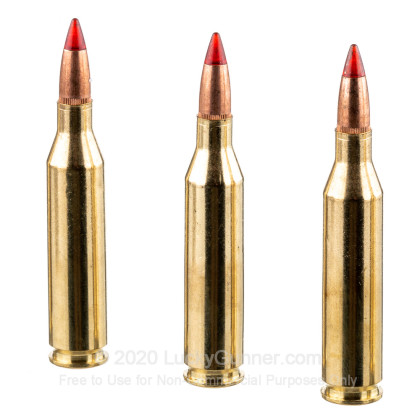 Large image of Premium 243 Ammo For Sale - 85 Grain Copper Extreme Point Ammunition in Stock by Winchester Deer Season XP Copper Impact - 20 Rounds