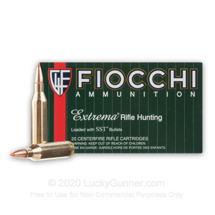 Large image of 243 Win Ammo In Stock  - 95 gr Fiocchi SST Polymer Tip Ammunition For Sale Online