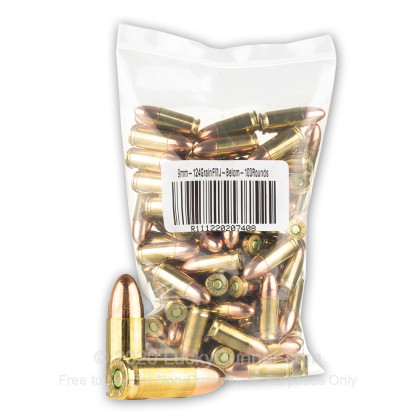 Image 1 of Belom 9mm Luger (9x19) Ammo