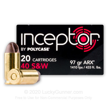 Image 1 of Polycase .40 S&W (Smith & Wesson) Ammo