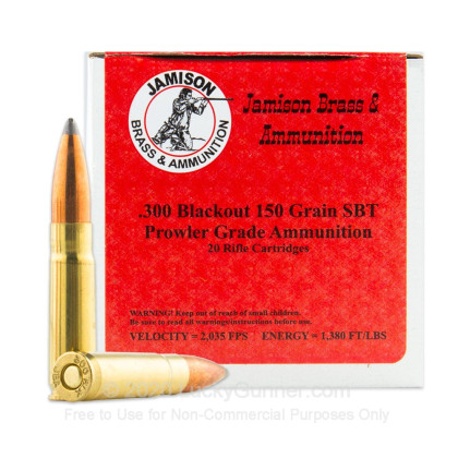 Image 1 of Jamison .300 Blackout Ammo