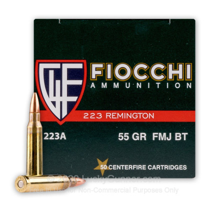 Image 1 of Fiocchi .223 Remington Ammo