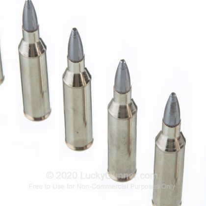 Large image of Premium 243 Ammo For Sale - 100 Grain Nosler Partition Ammunition in Stock by Federal Vital-Shok - 20 Rounds