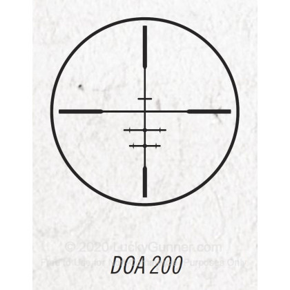 Large image of Rifle Scope For Sale - 3-9x - 40mm 733960SG - DOA 200 Slug Gun - Black Matte Bushnell Optics Rifle Scopes in Stock
