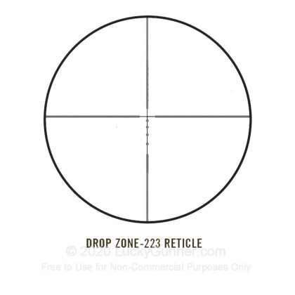 Large image of Rifle Scope For Sale - 3-12x - 40mm AR931240 - Drop Zone 223 BDC - Black Matte Bushnell AR Rifle Scopes in Stock