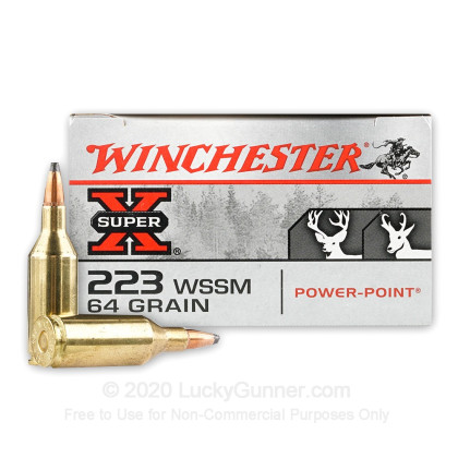 Image 1 of Winchester .223 WSSM Ammo