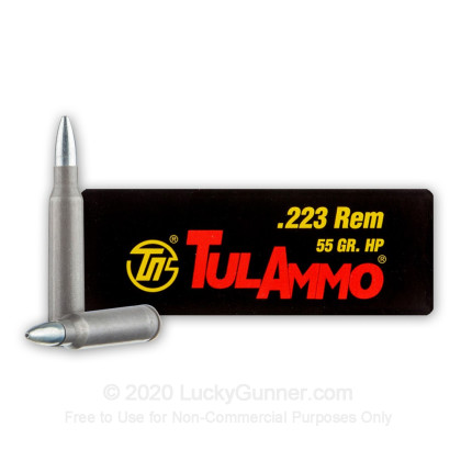 Image 1 of Tula Cartridge Works .223 Remington Ammo