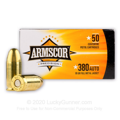 Image 2 of Armscor .380 Auto (ACP) Ammo