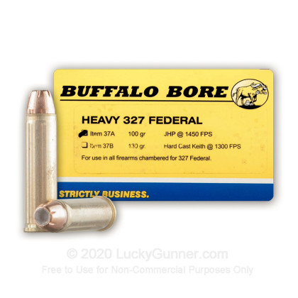 Image 1 of Buffalo Bore .327 Federal Magnum Ammo