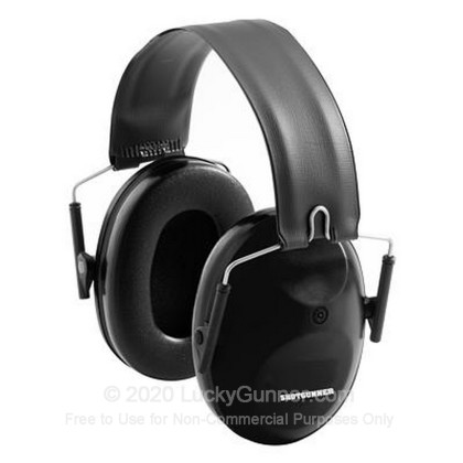 Large image of Peltor Black Shotgunner Passive Earmuffs For Sale - 21 NRR - Peltor Hearing Protection in Stock