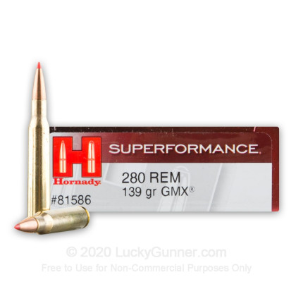 Image 1 of Hornady 280 Remington Ammo