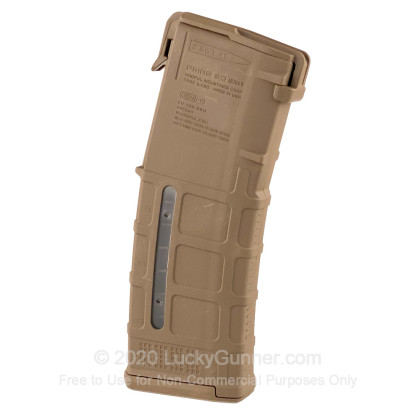 Large image of Magpul AR-15 30rd - 5.56/.223 - MCT (Medium Coyote Tan) - PMAG Gen M3 Window Magazine For Sale