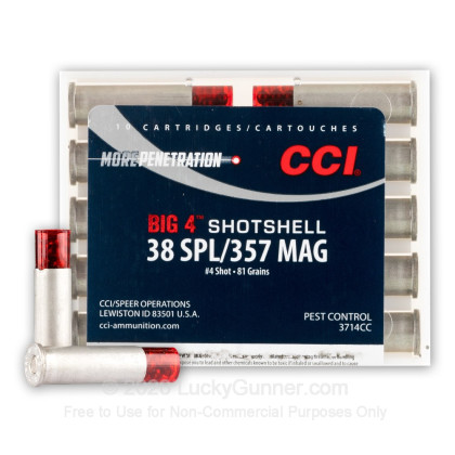 Image 1 of CCI .38 Special Ammo
