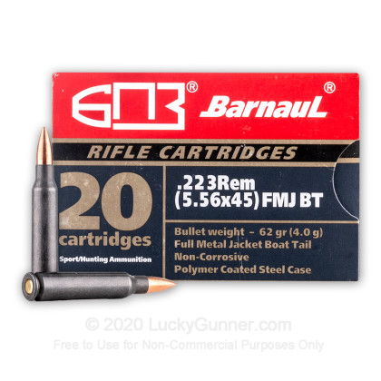 Image 1 of Barnaul .223 Remington Ammo