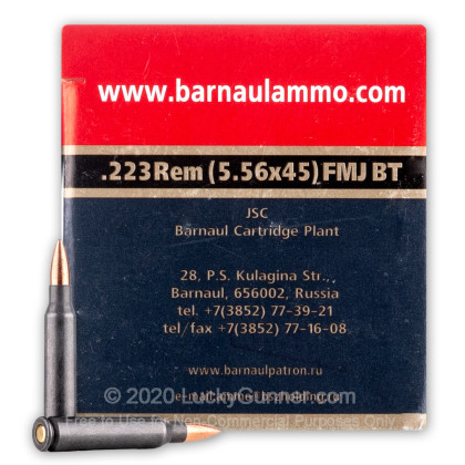 Image 2 of Barnaul .223 Remington Ammo