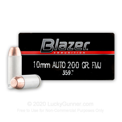 Image 1 of Blazer 10mm Auto Ammo