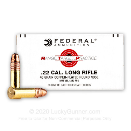 Image 2 of Federal .22 Long Rifle (LR) Ammo