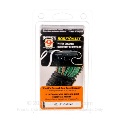 Large image of Hoppe's BoreSnakes for Sale - .40 - .41 caliber - Hoppe's BoreSnake For Sale