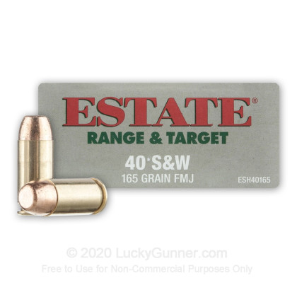 Image 1 of Estate Cartridge .40 S&W (Smith & Wesson) Ammo