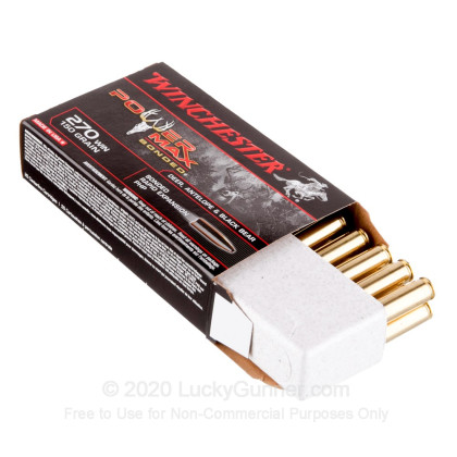 Large image of Premium 270 Win Ammo For Sale - 150 Grain PHP Ammunition in Stock by Winchester Power Max - 20 Rounds