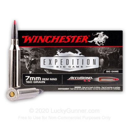 Image 2 of Winchester 7mm Remington Magnum Ammo