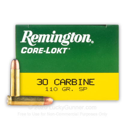 Image 1 of Remington 30 Carbine Ammo