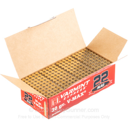 Image 3 of Hornady .22 Magnum (WMR) Ammo