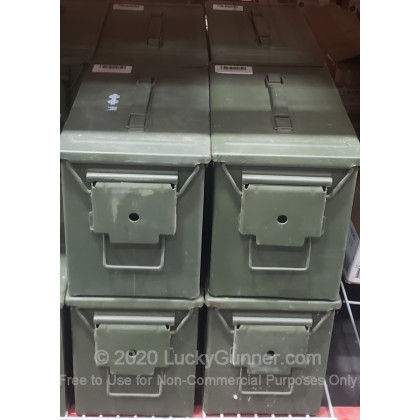 Large image of Fat 50 Green Surplus Mil-Spec Ammo Can For Sale