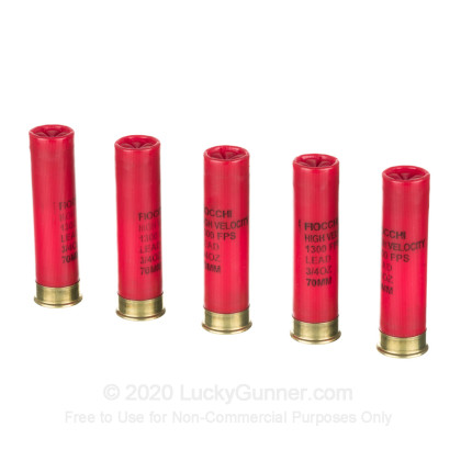 """Large image of Bulk 28 Gauge Ammo For Sale - 2-3/4"""" 3/4oz. #6 Shot Ammunition in Stock by Fiocchi - 250 Rounds"""