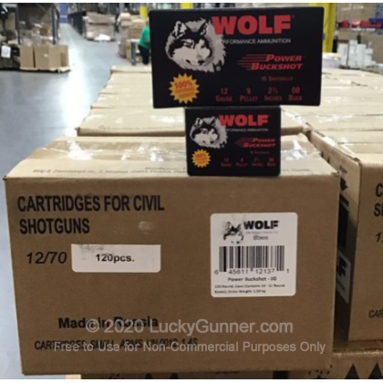 Image 1 of Wolf 12 Gauge Ammo