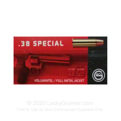 Image 1 of GECO .38 Special Ammo