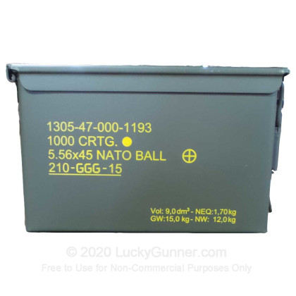 Image 2 of Military Surplus 5.56x45mm Ammo