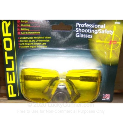 Large image of Peltor Yellow Shooting Glasses For Sale - 97102 - Peltor Glasses in Stock