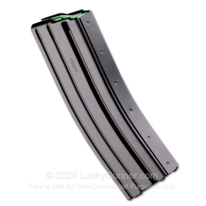 Large image of Cheap 5.56x45 Magazine For Sale - AR-15 Black Steel Magazine in Stock by D&H - 30 Round Magazine - Blems