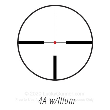 Large image of Premium Rifle Scope For Sale - 1-4x 24mm 731424E - Illuminated 4A - Black Matte Bushnell Optics Rifle Scopes in Stock