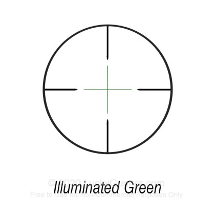 Large image of Bushnell Banner Illum Rifle Scope - 3-9x - 40mm - 713949I - Multi-X (Duplex) Illuminated Reticle - Black Matte - In Stock - Luckygunner.com