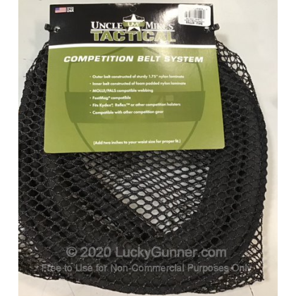 """Large image of Competition Belt - 1.75"""" - Uncle Mike's - Black/Green"""