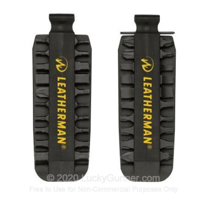 Large image of Leatherman Bit Kit 40 Bits For Bit Drivers For Sale - Black Oxide Bit Kit For Sale
