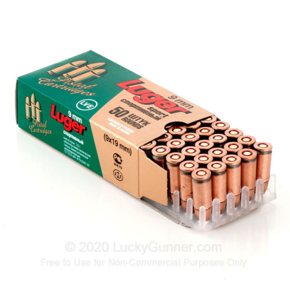 Image 4 of LVE 9mm Luger (9x19) Ammo