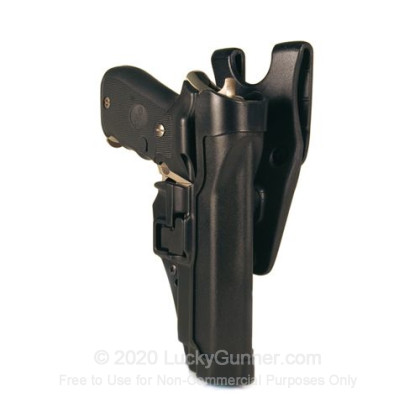 Large image of Holster - Duty Holster - Blackhawk SERPA Level 2 - Left Hand - Glock 17/19/22/23/31/32 for sale