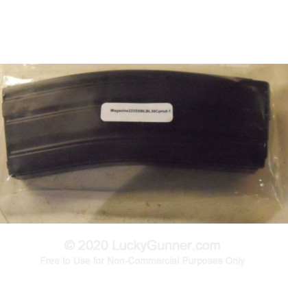 Large image of C-Products 223 Stainless Steel Magazine Black Teflon Finiish For Your AR-15 For Sale - 30 Rounds