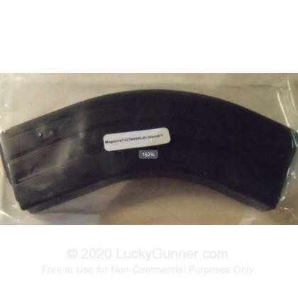 Large image of C-Products 7.62x39 Stainless Steel Magazine Black Finii For Sale - 30 Rounds