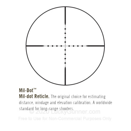 Large image of Premium Rifle Scope For Sale - 2.5-16x - 42mm ET2164 - Mil-Dot  Reticle - Black Matte Bushnell Elite Tactical Rifle Scope in Stock
