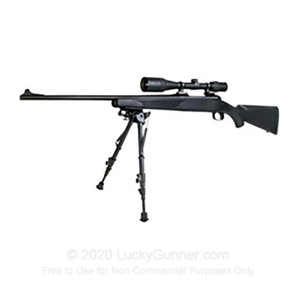 "Large image of Champion Rock Mount Pivot Rifle Bipod - 9""-13"" - Black"
