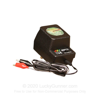 Large image of Primos 6V/12V Charger - 64010 - Black